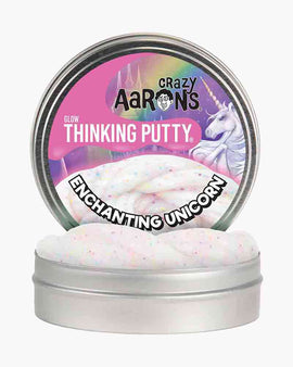 "Crazy Aaron's Thinking Putty - 4"" Enchanted Unicorn"