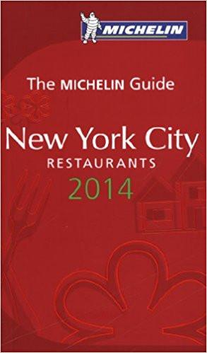 Michelin Guide New York City Restaurants (2014)