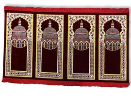 4-person prayer rug, Grup Seccade-4 kisilik