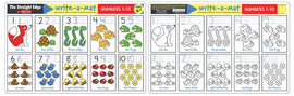 Numbers 1-10 Learning Mat