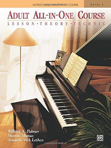 Alfred's Basic Adult All-In-One Piano Course: Level 1