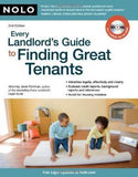 Every Landlord's Guide to Finding Great Tenants [With CDROM]