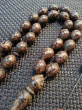 Tesbih 33luk Tarcin (Cinnamon) - Prayer Beads