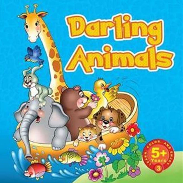 Darling Animals (Learn,Color and Enjoy)