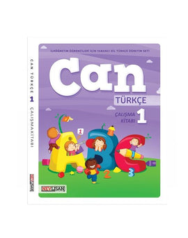 CAN Turkce Calisma Kitabi-1 (Workbook+Online School License)
