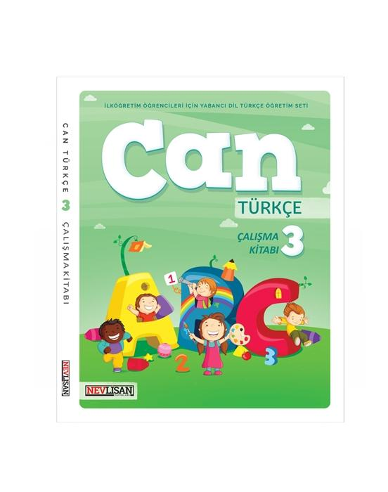 CAN Turkce Calisma Kitabi-3 (Workbook+Online School License)