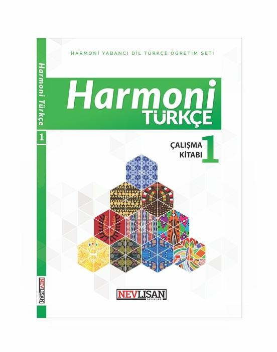 HARMONİ Turkce Calisma Kitabı-1 (Workbook+online School License)