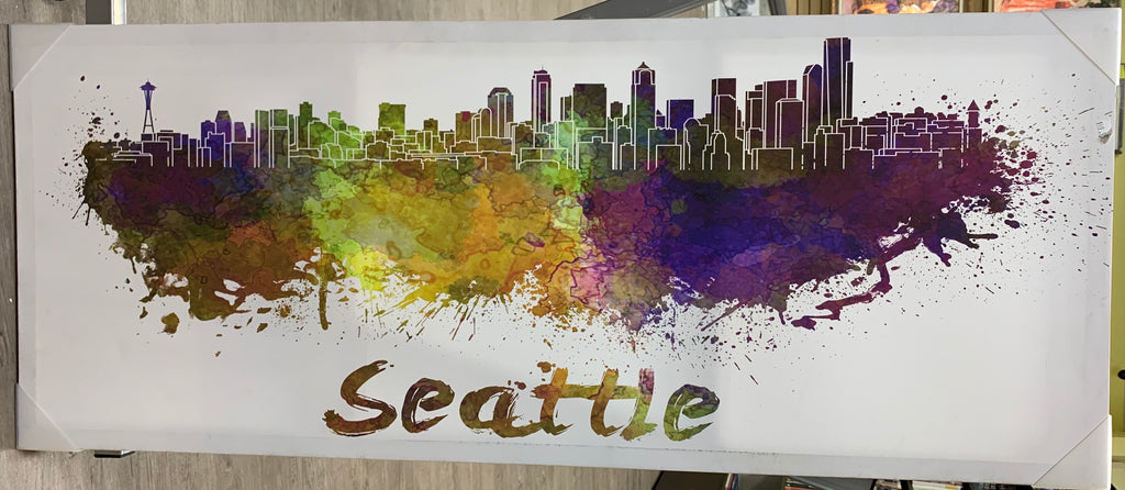 Seatle, Washington Kanvas Tablo 101x51 cm