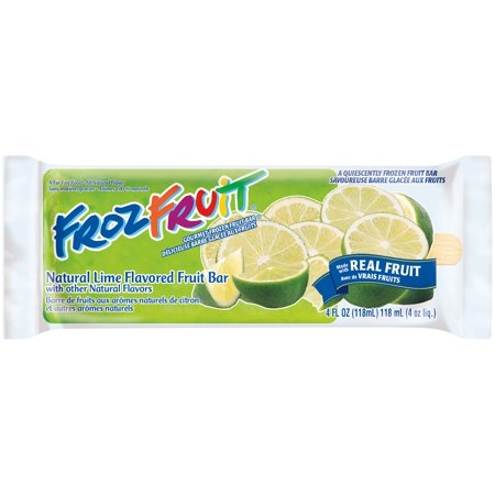 Ice Cream FrozFruit-Natural Lime Flavored Fruit Bar