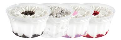 Ice Cream Cotton Candy w/Sprinkles Sundae Cups-Dolly Madison