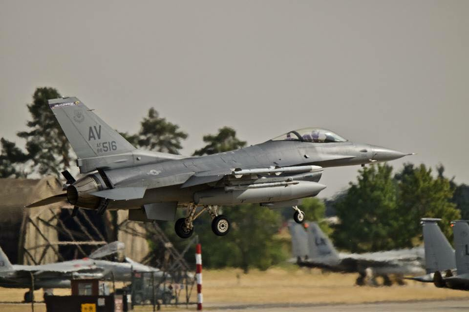 US Air Force Jet Lakenheath