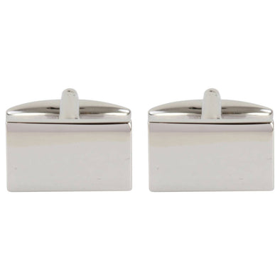 Personalised Aster Classic Rectangle Cufflinks