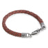 Tobias Brown Leather Bracelet
