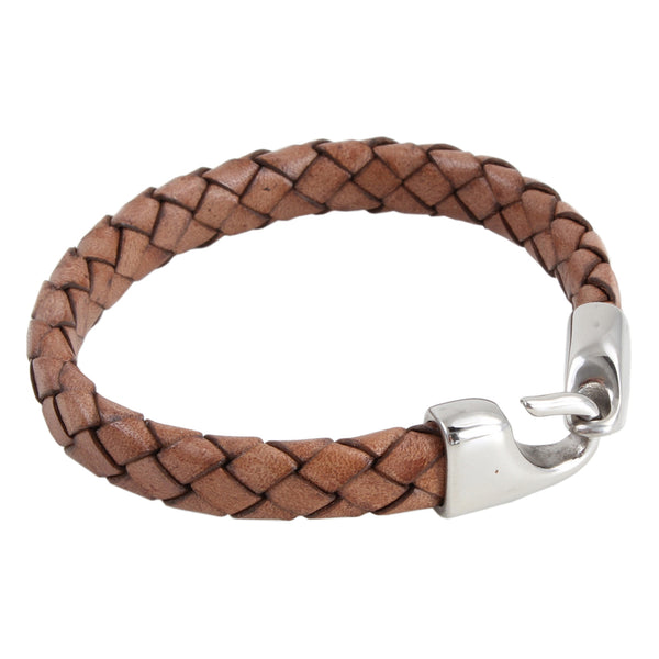 Amos Brown Leather Bracelet