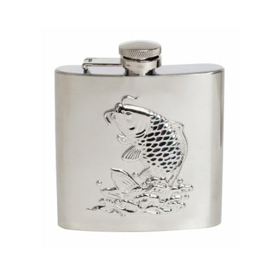 Gone Fishing Hip Flask