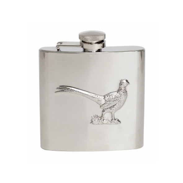 Have a Pheasant Day Hip Flask