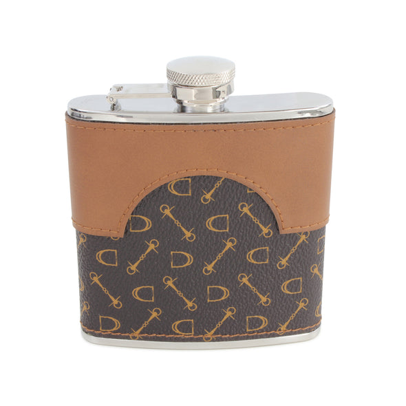 From the Horses Mouth Hip Flask