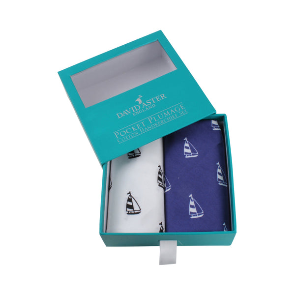 Sail Away Handkerchief Set