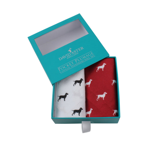 Top Dog Handkerchief Set