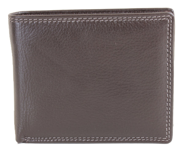 Byron Brown Leather Billfold RFID Wallet