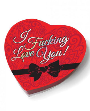 I F*cking Love You Heart Box Of Chocolates 1.76oz