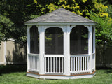 Octagon Wood Gazebo