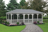 Rectangle Vinyl Gazebo
