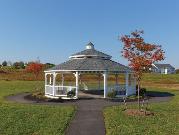 Dodecagon Wood Gazebo