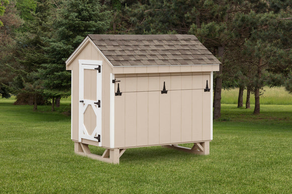 Quaker Tractor With Wheels Chicken Coop Esh S Sheds