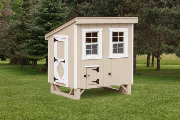 Lean-To Chicken Coop