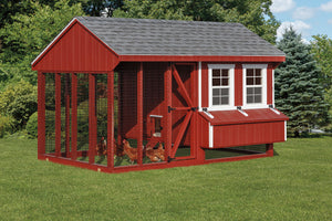 Quaker Combo Coop & Run Chicken Coop