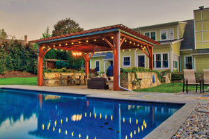 Timber Frame Pergolas w/ Roof