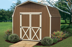 6' Wall Barn Storage Shed