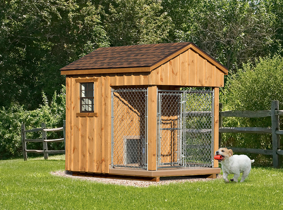 Homeowner Dog Kennel