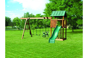 826-A 28 X 16 Wooden Swing Set