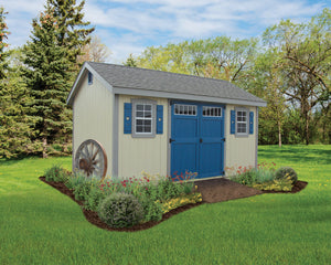 A Frame Estate Storage Shed
