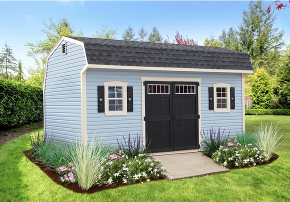 Silver Line Dutch Colonial Storage Shed