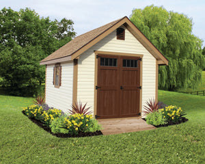 New England Elite Storage Shed