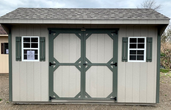 10 X 14 Quaker Value Line Shed