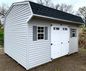 12X16 Dutch Colonial Vinyl Value Line Shed
