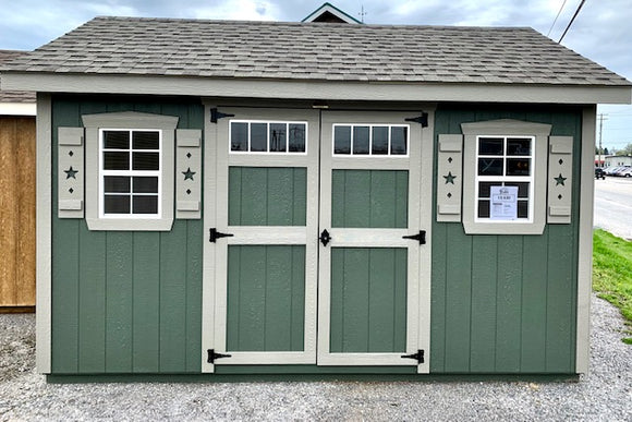 10X14 A Frame Estate Star Series Shed