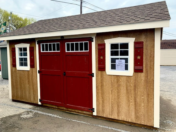 12X16 A Frame Estate Star Series Shed