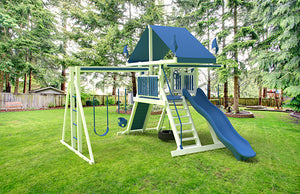 SK-10 MOUNTAIN CLIMBER Swing Set
