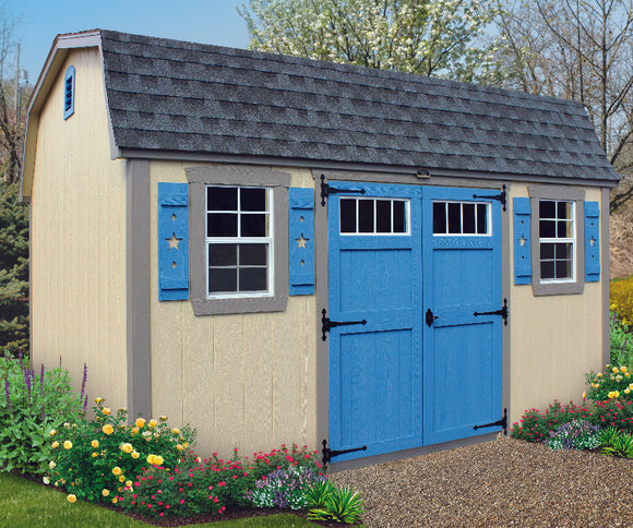 Star Series Dutch Barn Storage Shed