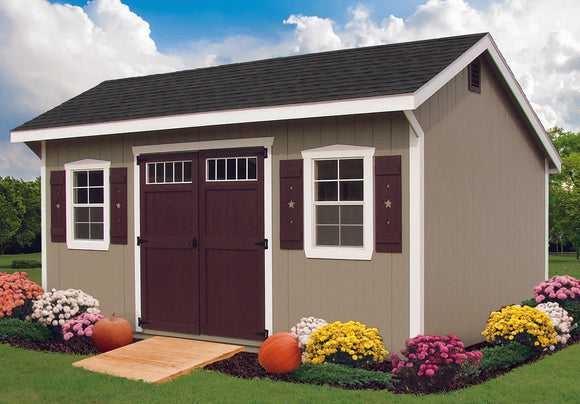 Star Series Carriage Barn Storage Shed