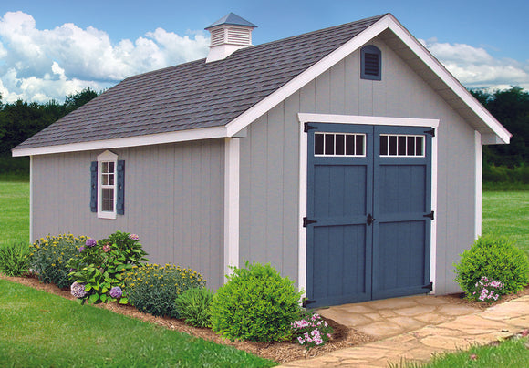 Star Series New England Elite Storage Shed