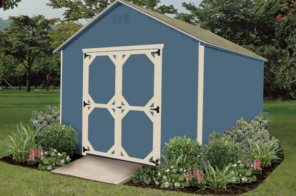 A Frame Storage Shed