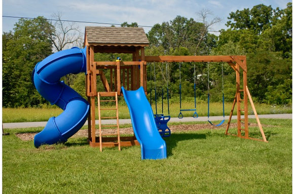 841-B 22 X 16 Wooden Swing Set