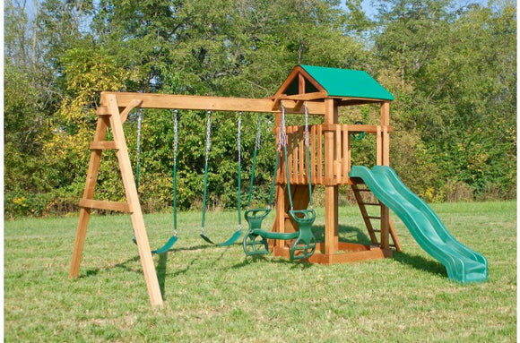 745-A 22 X 18 Wooden Swing Set