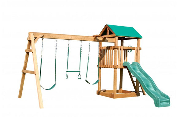 746-A 22 X 14 Wooden Swing Set